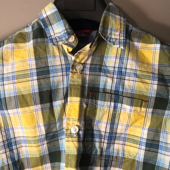 GAP Other - Toddler plaid long sleeve shirt